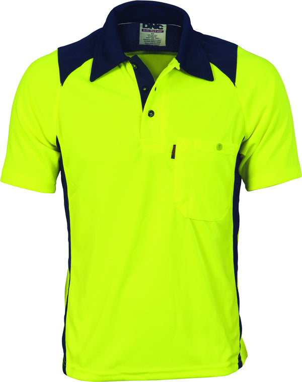 Cool Breathe Action Short Sleeve Polo Shirt