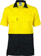 HiVis Three Way Cool-Breeze Cotton Short Sleeve