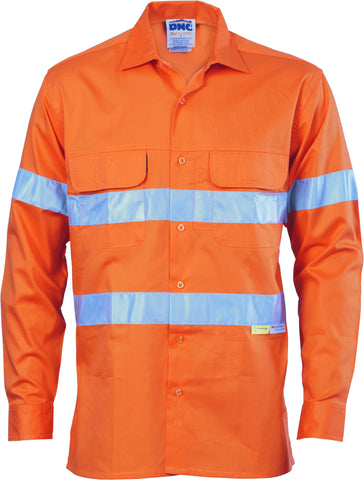 Picture of HiVis Three Way Cool-Breeze Cotton Long Sleeve With Reflective Tape