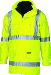"HiVis Cross Back D/N ""6 in 1"" Jacket"