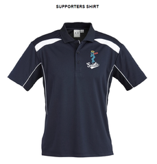 Saints Softball Mens United Short Sleeve Polo - Supporter
