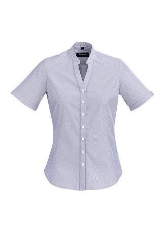 Ladies Bordeaux Short Sleeve Shirt