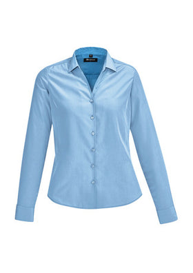 Ladies Solanda Plain Long Sleeve Shirt