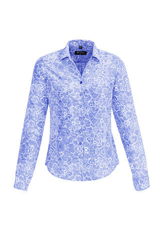 Picture of Ladies Solanda Print Long Sleeve Shirt