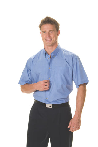 Picture of Chambray Short Sleeve Business Shirt