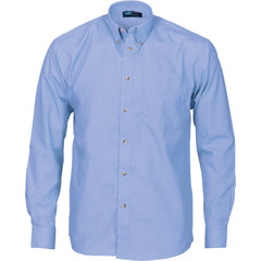 Chambray Long Sleeve Business Shirt