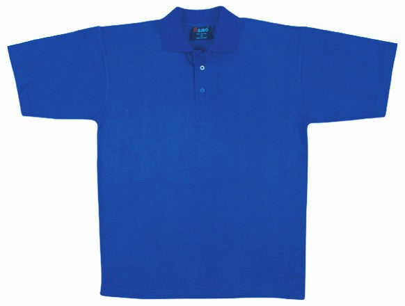 Mens Cotton Jersey Polo Shirt