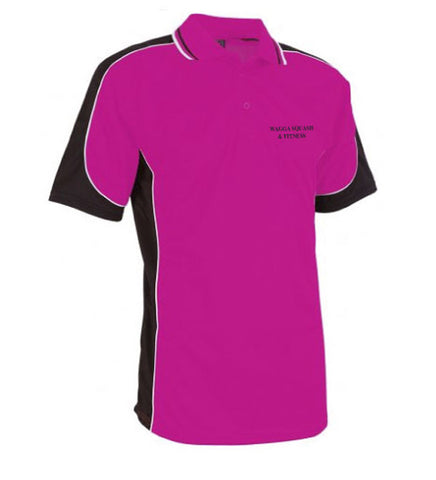 Picture of Kids Pink Squash Polo