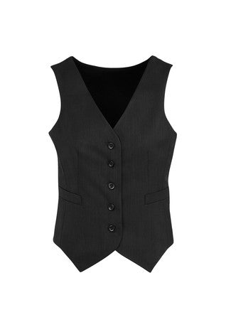 Ladies Peaked Knitted Back Cool Stretch Vest