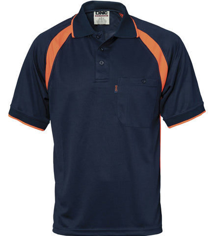 Picture of DNC Cool Breathe Contrast Short Sleeve Polo