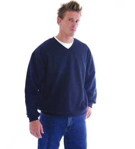 Picture of Mens V Neck Fleecey Sweatshirt