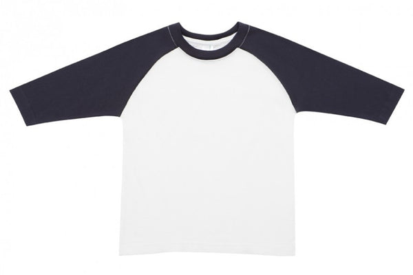 Kids 3/4 Sleeve Raglan T-Shirt