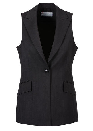 Picture of Ladies Longline Sleeveless Jacket