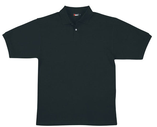 Mens Cotton Pigment Dyed Polo Shirt