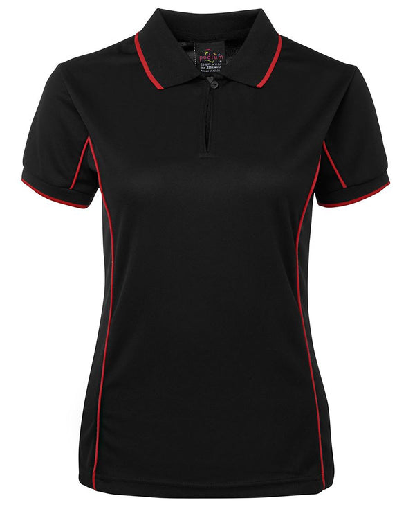 JB's Ladies Short Sleeve Piping Polo