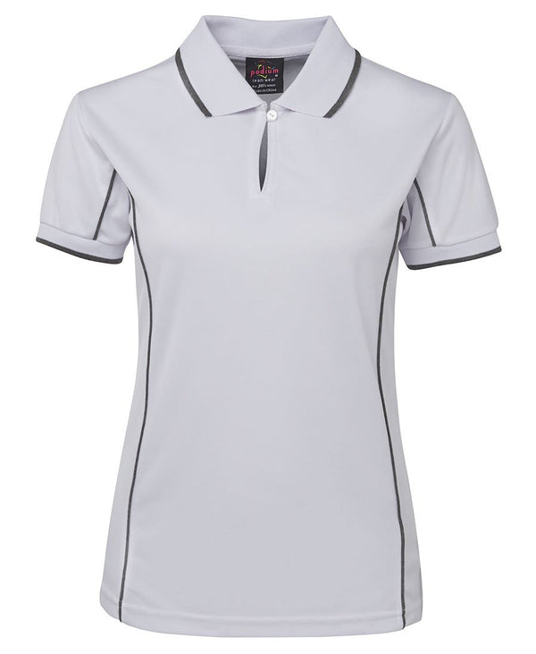JB's Ladies Coloured Short Sleeve Piping Polo
