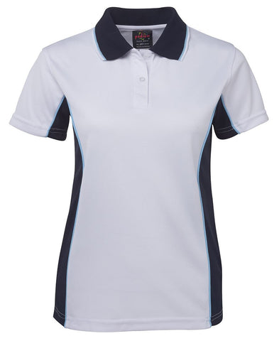 Picture of Ladies Contrast Polo