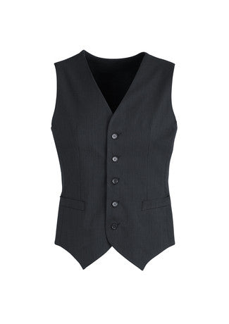 Mens Cool Stretch Peaked Vest with Knitted Back