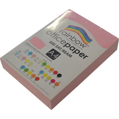 A4 PINK -RAINBOW COPY PAPER