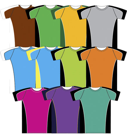 Picture of Kids Cooldry Bright Body Panel Tee