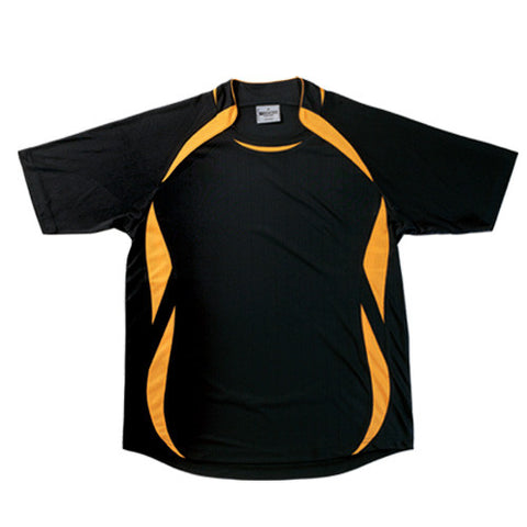 Picture of Black/Gold Sports Jersey