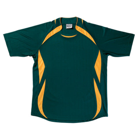 Picture of Bottle Green/Gold Sports Jersey