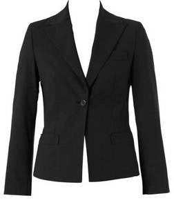 Ladies 1 Button Cropped Jacket