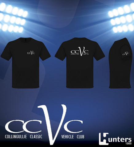 Picture of KIDS CCVC BLACK COTTON TEE