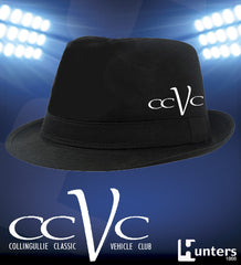 Headwear CCVC Fedora Cotton Twill Hat