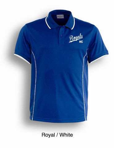 Royals Hockey Club Mens Short Sleeve Polo