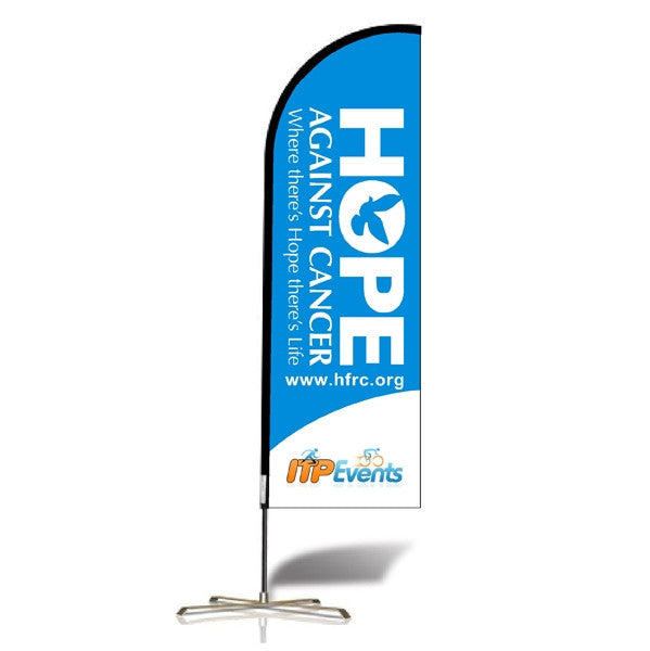 Single Sided Tear Drop/Wing Banner