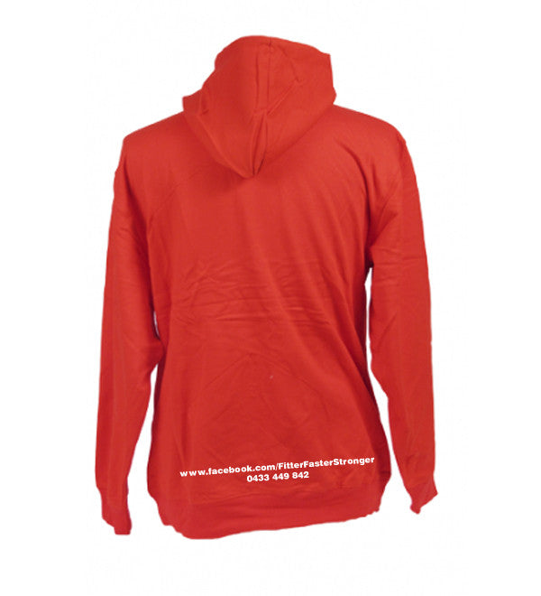 Ladies/kids Fitter Faster Stronger Zip Hoodie