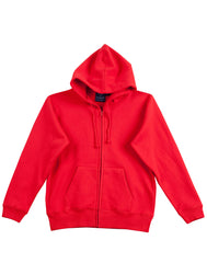 Kids Fleecy Double Bay Full Zip Hoodie