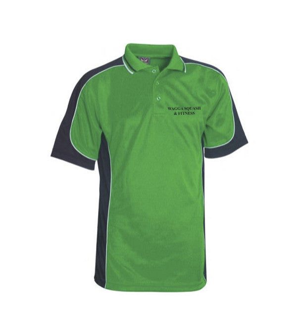 Mens green Racquet squash Polo