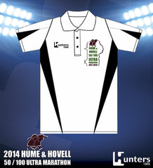 ADULTS & KIDS H&H POLO SHIRT - WHITE/BLACK