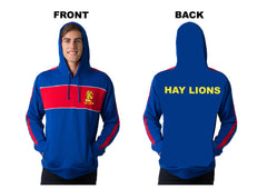 HAY LIONS HOODIES royal/red/white