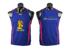 HAY LIONS UNDER 17s SINGLET royal /red