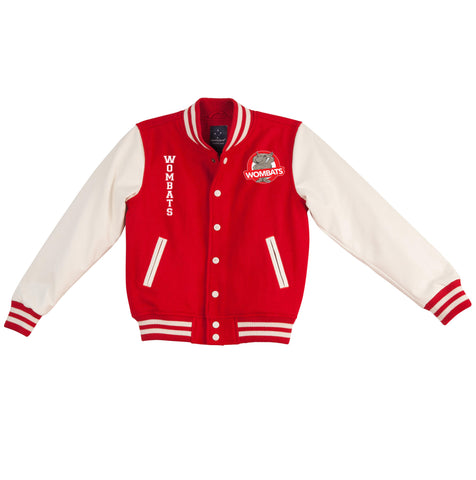 Picture of CSU Wombats Unisex Wool Blend Varsity Jacket