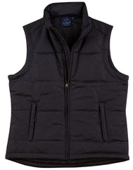 Ladies Nylon Padded Vest
