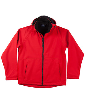 Ladies Softshell Aspen Hood Jacket