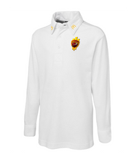 LACC Juniors Long Sleeve Cricket Polo