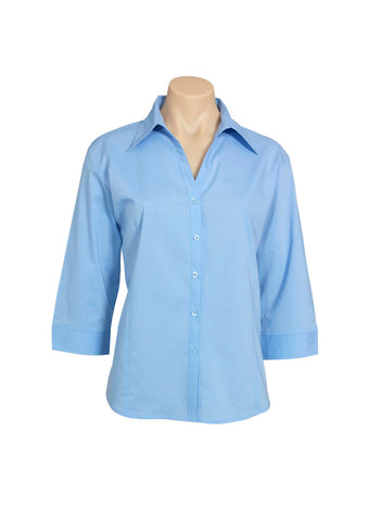 Picture of Ladies 3/4 Sleeve Metro Shirt