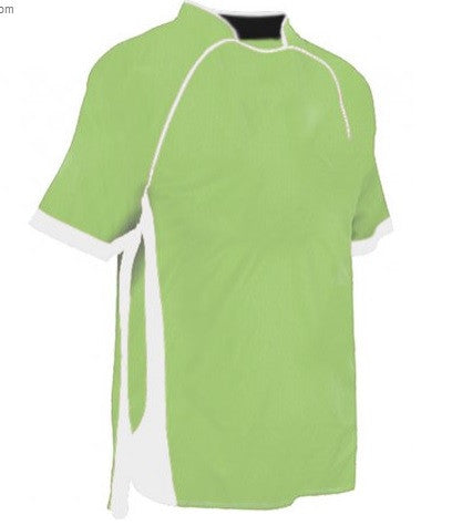 Lime Green/White/Black Tadpole Tee