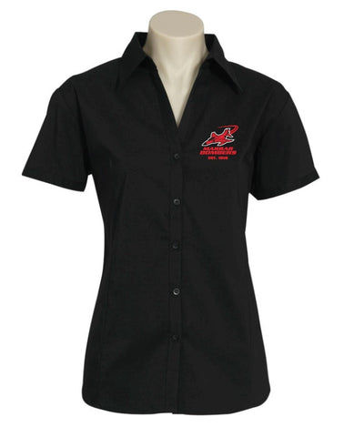 Picture of Marrar Bombers Ladies Short Sleeve Metro Shirt