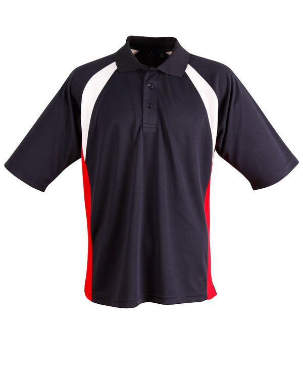Mens CoolDry Tri Sport Polo