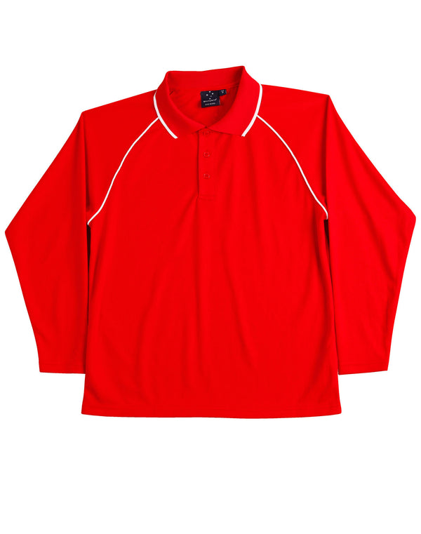 Kids CoolDry Long Sleeve Champion Plus Polo