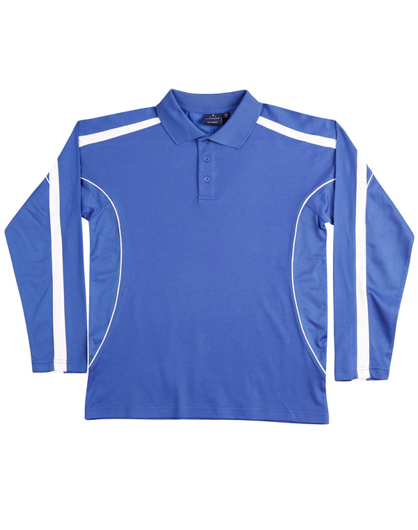 Mens TrueDry Long Sleeve Legend Plus Polo