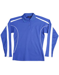 Ladies TrueDry Long Sleeve Legend Plus Polo
