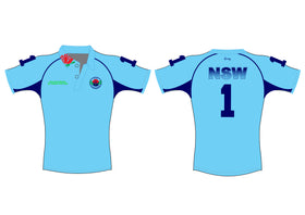 NSW POLOCROSSE PLAYING POLO WITH EXTRA LOGO