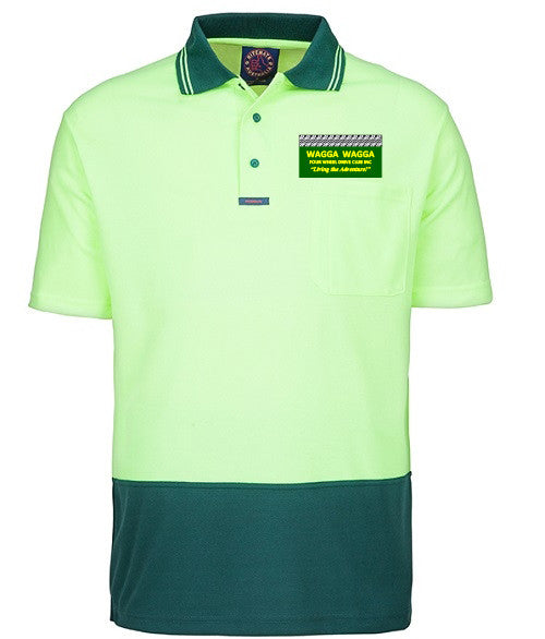 Wagga Four Wheel Drive Club Hi Viz S/S Polo Shirt